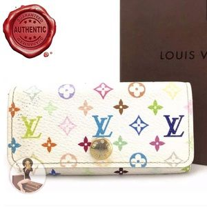 Louis Vuitton Monogram Multicolor Key Case+ LV Box